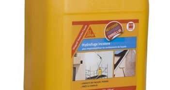 Hydrofuge de façade