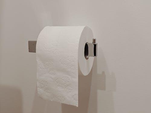 Un porte rouleau de papier toilette